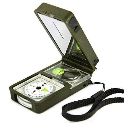 10 in 1 Multifunctional Pocket Compass-My Outdoor Shop