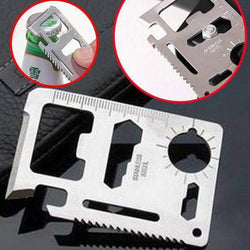 11 in 1 Credit Card Size Multi Tool-My Outdoor Shop