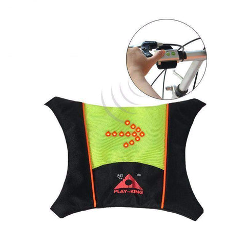 Cycling Reflective Safety Vest With Turn Signal-My Outdoor Shop