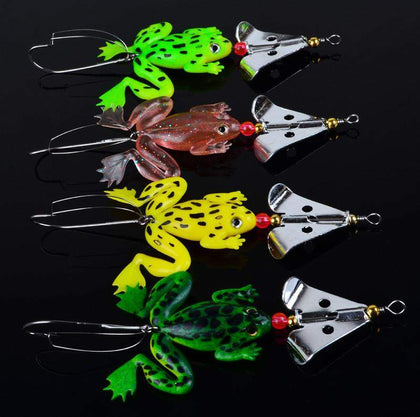 Frog shaped Fishing Lure - 4pcs-My Outdoor Shop