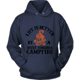 Life Is Better By A West Virginia Campfire-My Outdoor Shop