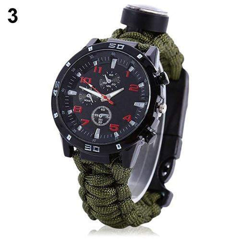 Multifunctional Paracord Watch-My Outdoor Shop