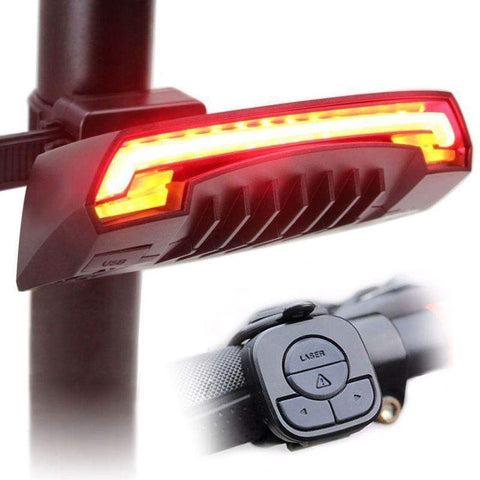 Smart Turn Cycle Tail Light with Laser-My Outdoor Shop