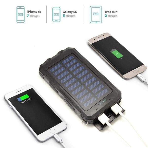 Solar USB Power Bank - WaterProof-My Outdoor Shop