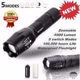 Tactical LED Flashlight - G700-My Outdoor Shop