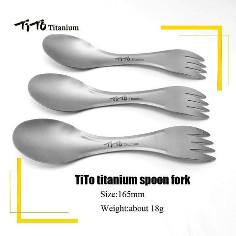 Titanium Spork-My Outdoor Shop
