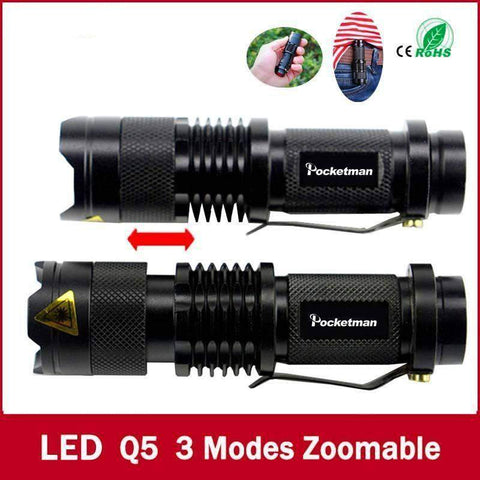 Waterproof Mini LED Flashlight-My Outdoor Shop