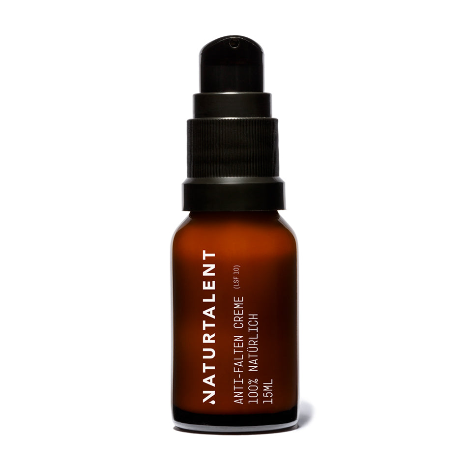 Anti-Falten Creme LSF MINI 15ml - Naturtalent Cosmetics