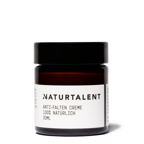 Anti-Falten Creme 30ml - Naturtalent Cosmetics
