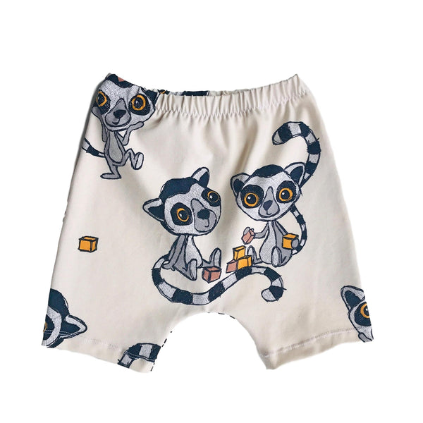Organic Cotton Kattas Vanilla Ice Shorts