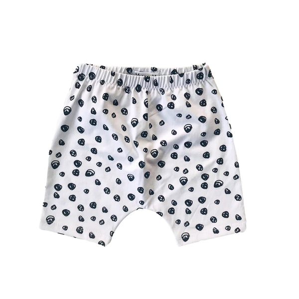 Shorts Organic Cotton Confetti Black & White