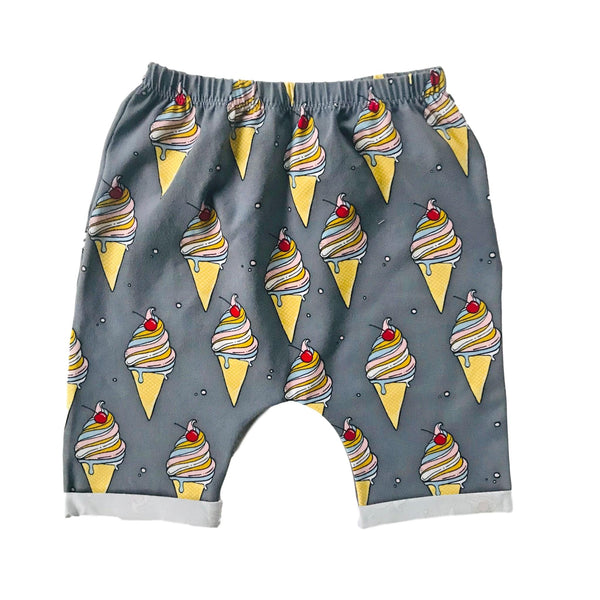 Creamy Ice Cotton Shorts 2 - 5 years