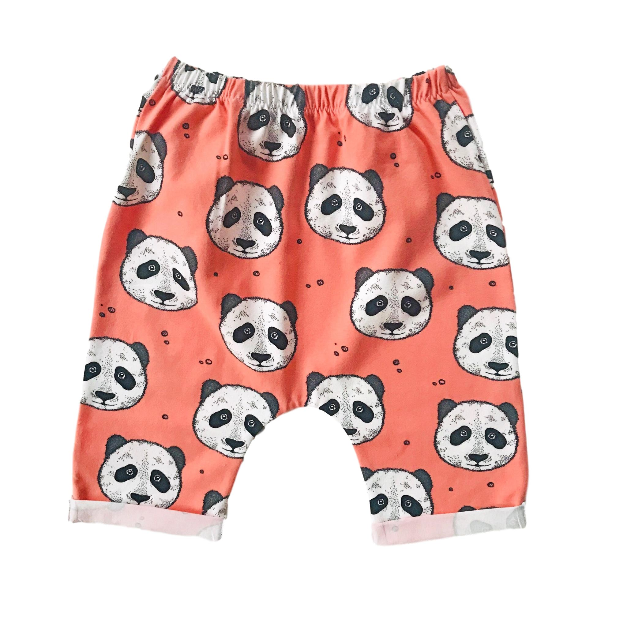 Panda Peculiar Organic Cotton Shorts 2 - 5 years