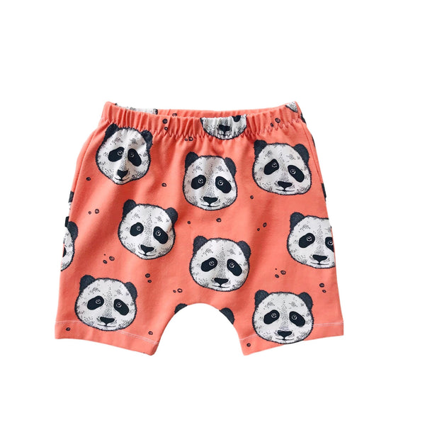 Panda Peculiar Organic Cotton Shorts
