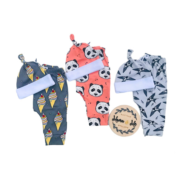 Gift Set 0 - 12 months (Pants / Cap)