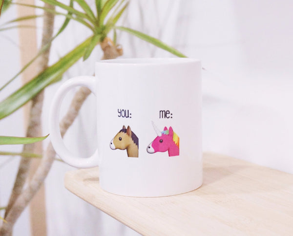 Brag mug, , Unicorn Rhapsody, unicorn products, unicorn stuff