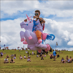 Rider Inflatable Unicorn Costume, , Unicorn Rhapsody, unicorn products, unicorn stuff