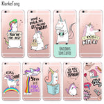 Cute Rainbow Unicorn Cases for iPhone 6 6s 5 5s SE 7/7Plus, , Unicorn Rhapsody, unicorn products, unicorn stuff