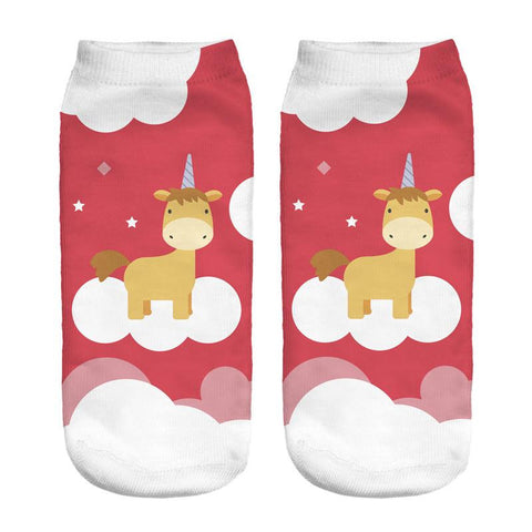 Xmassy Unicorn Socks, , Unicorn Rhapsody, unicorn products, unicorn stuff