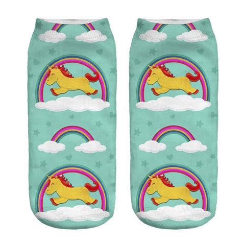 Kawaii Unicorn Socks, , Unicorn Rhapsody, unicorn products, unicorn stuff