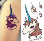 Waterproof full color tattoo, , Unicorn Rhapsody, unicorn products, unicorn stuff