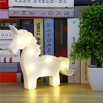 White Unicorn Lamp, , Unicorn Rhapsody, unicorn products, unicorn stuff