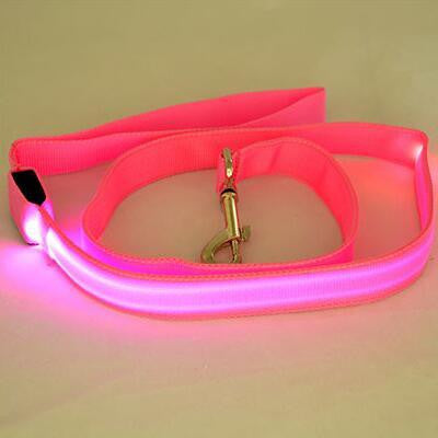 Unicorn Pink Pet LED Dog Leash Night, , Unicorn Rhapsody, unicorn products, unicorn stuff