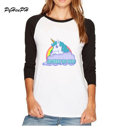 Always Be You Unicorn Long Sleeve T Shirt, , Unicorn Rhapsody, unicorn products, unicorn stuff