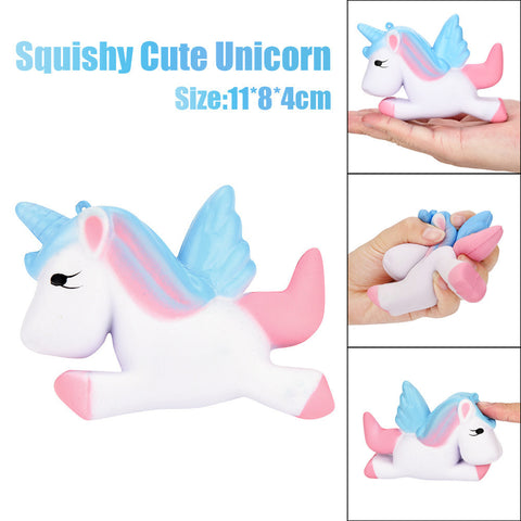 Kawaii Unicorn Squishy Slow Rising Cartoon Doll Cream Scented Decompression Toys, , Unicorn Rhapsody, unicorn products, unicorn stuff