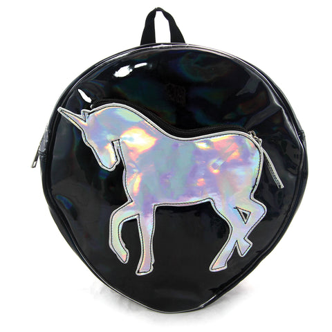 Unicorn Holographic Backpack in Vinyl Material, , Unicorn Rhapsody, unicorn products, unicorn stuff