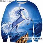 PLstar Cosmos New Design Animal Unicorn Flying Wings 3D Print Boy Cute Sweatshirt Women/Men Fashion Pullovers Sweatshirts Tops, , Unicorn Rhapsody, unicorn products, unicorn stuff