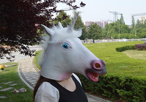 unicorn thief face mask, , Unicorn Rhapsody, unicorn products, unicorn stuff