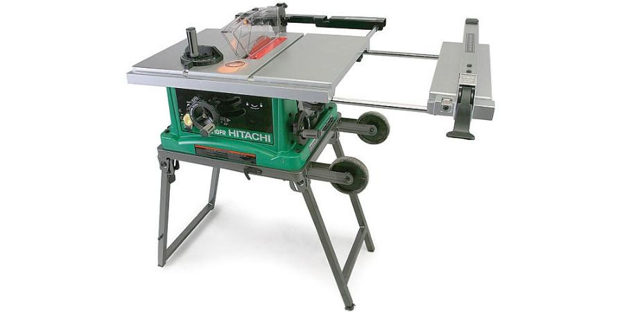 C10FR Portable Hitachi Table Saw Review | Ryker Hardware