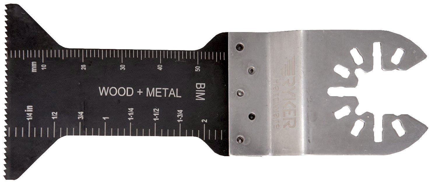 "caseypowell - BiMetal Fine Tooth Blades For Wood and Metal-2.25"" long and 1.75"" wideOscillating Saw Blade - Ryker Hardware"