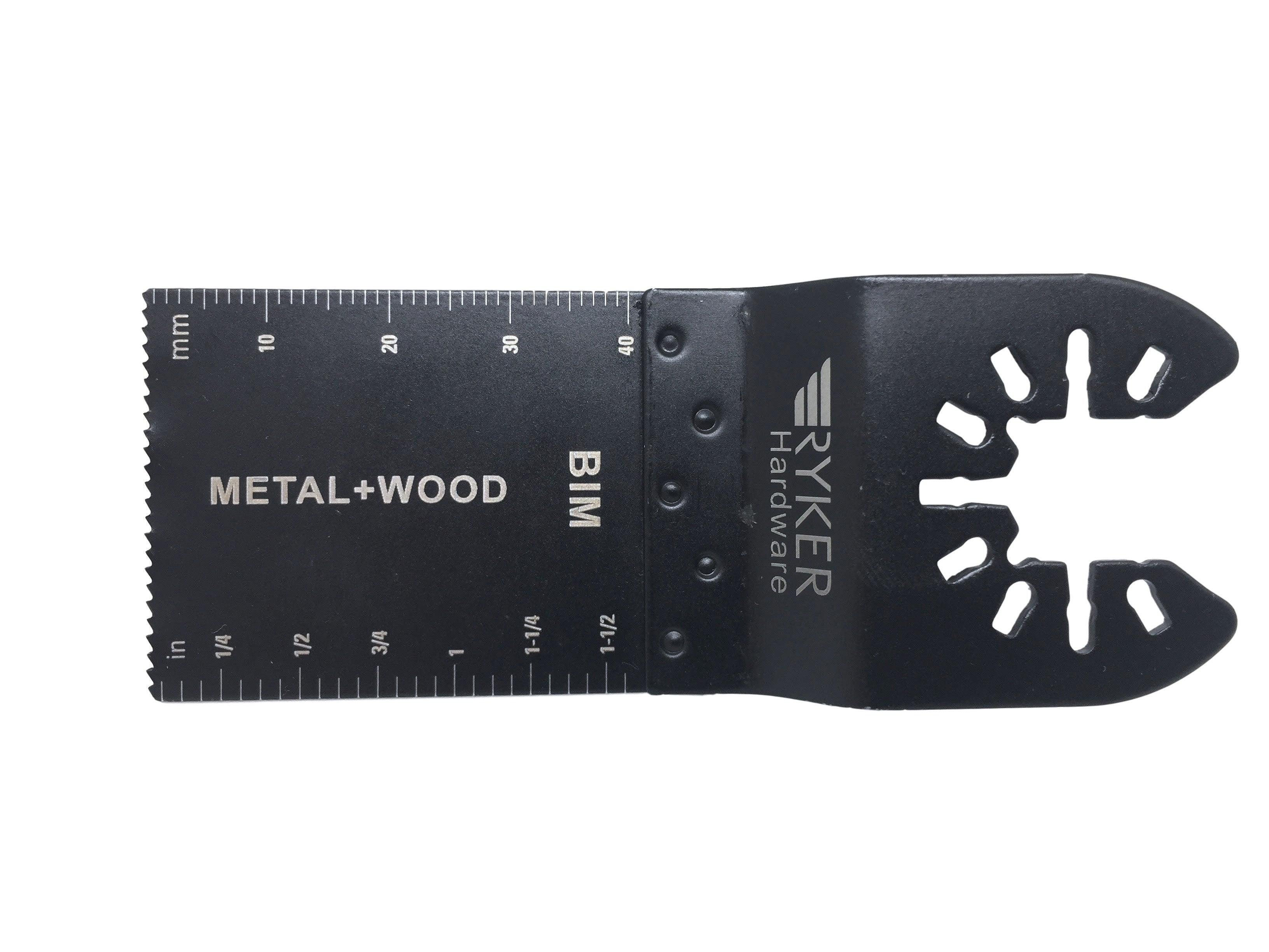 caseypowell - 10 Pack - BiMetal Oscillating Saw Blades - Metal and Wood - Saw Blade - Ryker Hardware