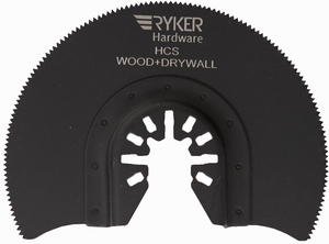 15 Piece Variety Pack of Quick Release Oscillating Saw Blades - For Wood and Metal - Ryker Hardware