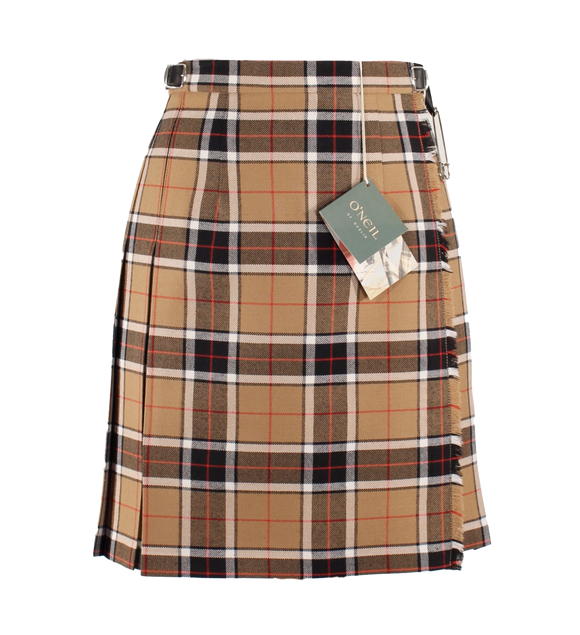 Camel & Black Mini Kilt (49cm Length)