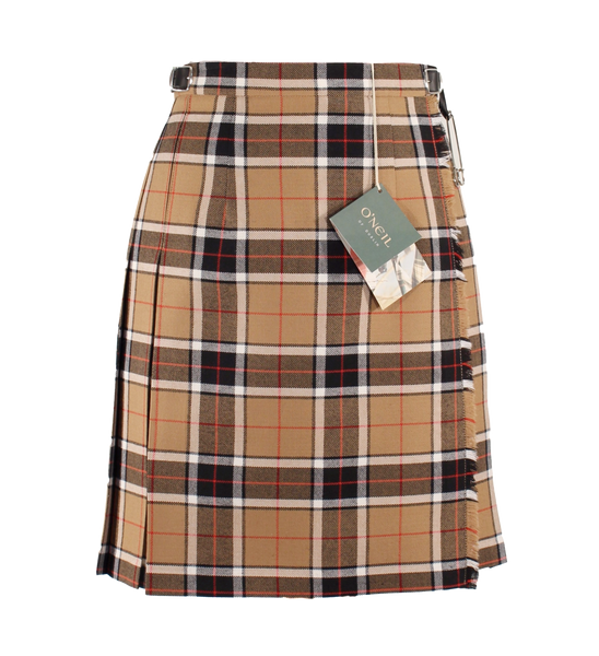 Camel & Black Mini Kilt