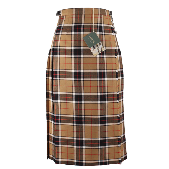 Camel & Black Regular Kilt (73cm length)