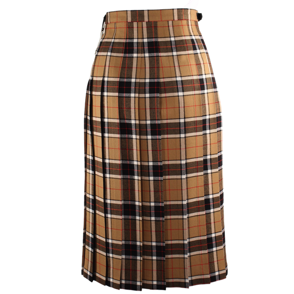 Camel & Black Regular Kilt