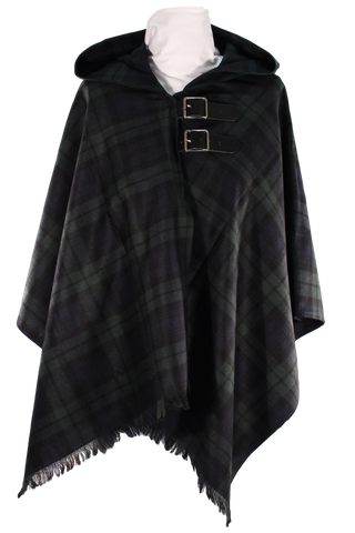 Black Watch Wrap Cape