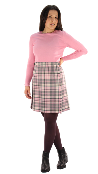 Pink Check Mini Kilt
