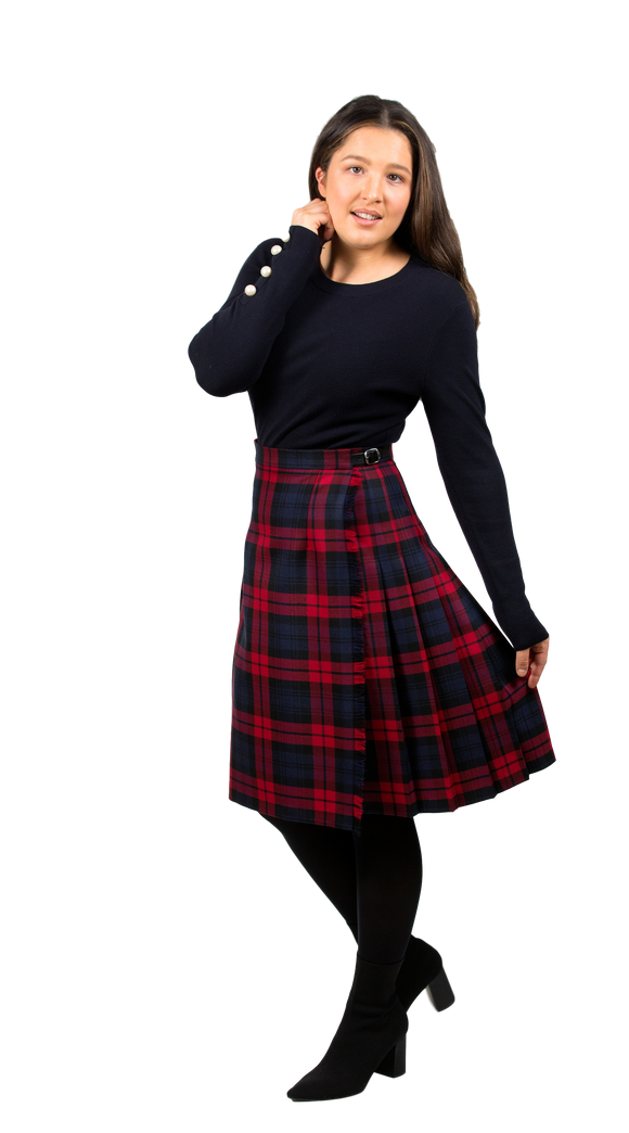 Lough Mask Midi Kilt (59cm Length)
