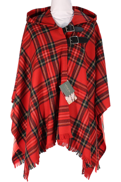 Royal Stewart Wrap Cape