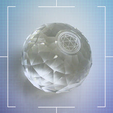 Large Crystal Paperweight