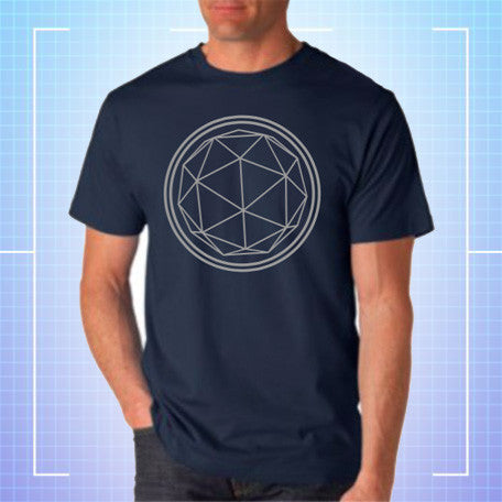 Navy Crystal T-shirt