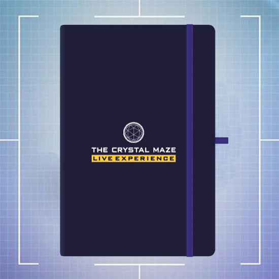 Crystal Maze Notebook - A5