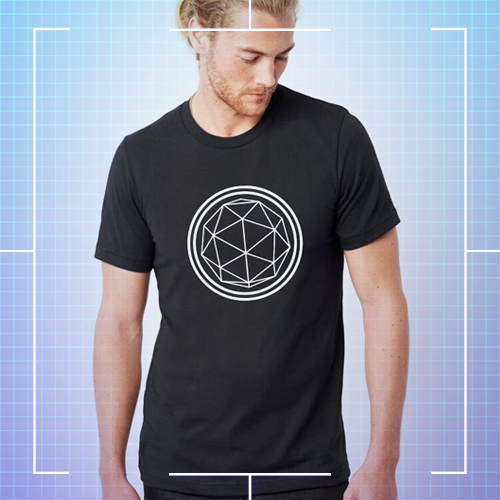Black Crystal T-shirt - Men