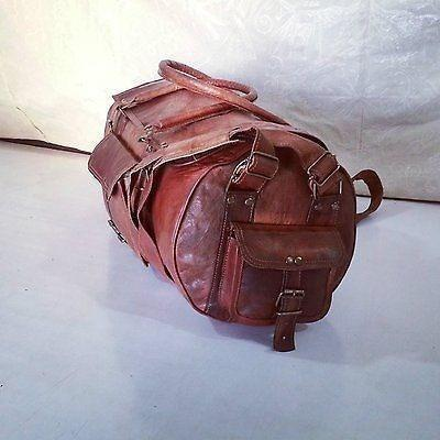 Handmade Travel Duffel Bag