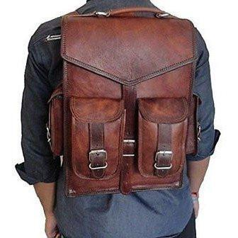 2-in-1 Messenger Backpack Rucksack Laptop Bag